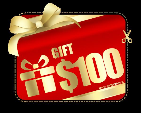 100 baks gift card