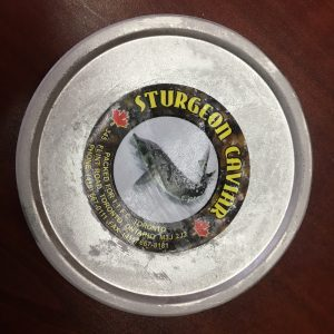 black caviar box